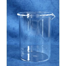 Quartz Wide Form Beaker 600ml